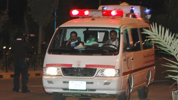 Автомобиль скорой помощи в Йемене