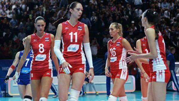 Волейбол. Женщины. Сборная России. Архивное фото