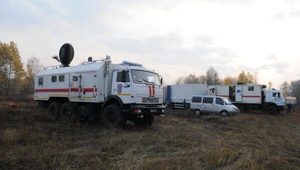 Ликвидация природных пожаров в Брянской области. Архивное фото