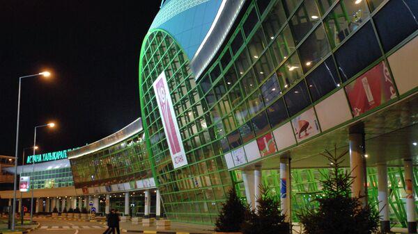 Здание аэропорта АО Международный Аэропорт Астана. Архивное фото