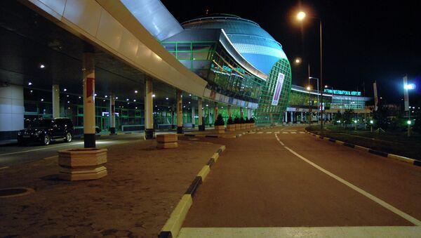 Аэропорт Астаны. Архивное фото