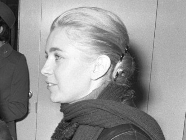 Французская актриса Мари Дюбуа