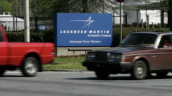 Вывеска авиастроительной компании Lockheed Martin. Архивное фото