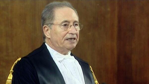 Председатель Апелляционного суда Милана Энрико Транфа