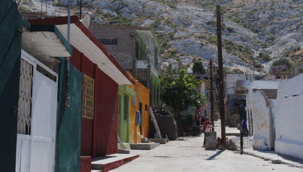 Улицы района Нуэво-Мехико в Торреоне