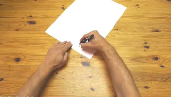 Лайфхак: как нарисовать идеально ровный круг без циркуля