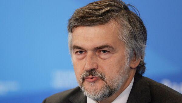 Заместитель председателя госкорпорации Банк развития и внешнеэкономической деятельности. Архивное фото