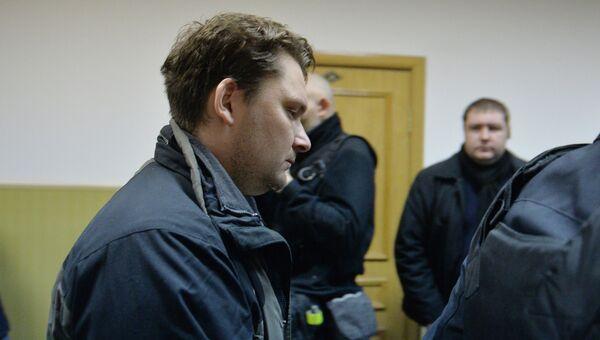Диспетчер аэропорта Внуково Александр Круглов в суде. Архивное фото