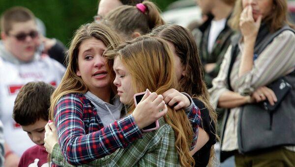 Ситуация возле школы Marysville-Pilchuck