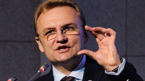 Украинский политический деятель Андрей Садовой