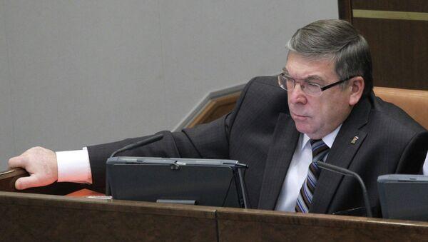 Сенатор Валерий Рязанский. Архивное фото