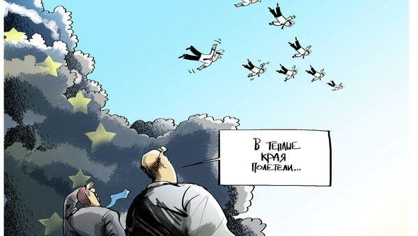 Осенняя миграция летчиков