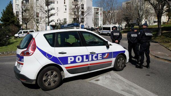 Полиция Франции. Архивное фото.