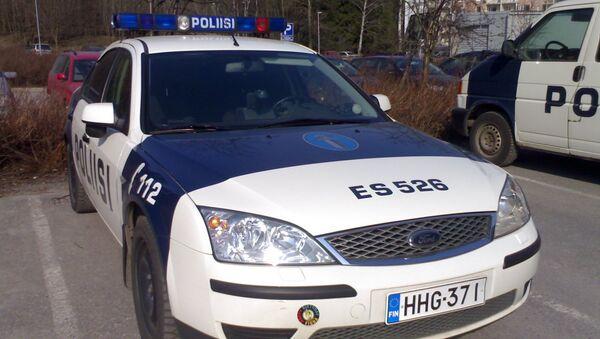 Машина полиции Финляндии. Архивное фото