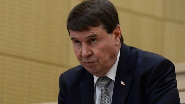 Сенатор от Заксобрания Крыма Сергей Цеков
