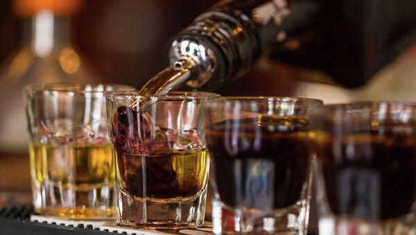 Крепкий алкоголь