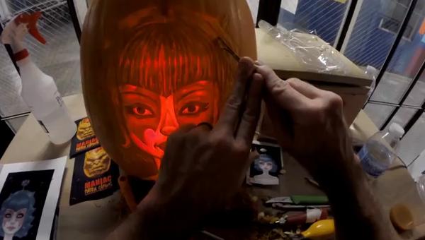 Мастер-класс: как быстро сделать украшение к Хэллоуину