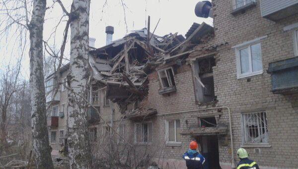 Последствия взрыва газа в Перми
