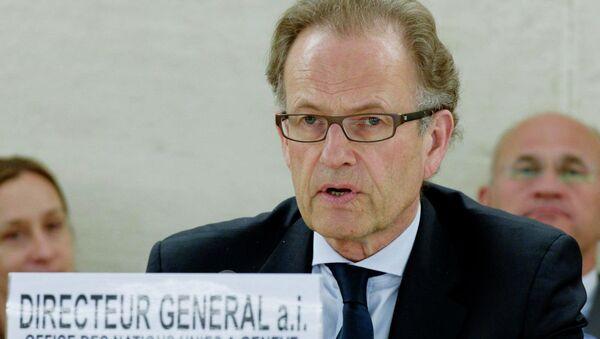 Генеральный директор отделения ООН в Женеве Михаэль Меллер. Архивное фото