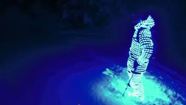 Ночной спорт, или Как эффектно покататься на лыжах