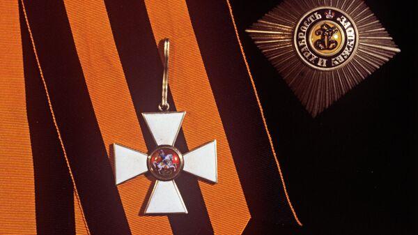 Звезда и знак ордена Святого Георгия I степени