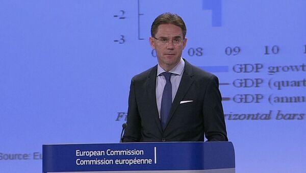 Члены Евросоюза заявили о снижении прогноза роста экономики в странах ЕС