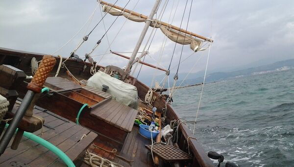 Ситуация с судном Святитель Петр. Архивное фото