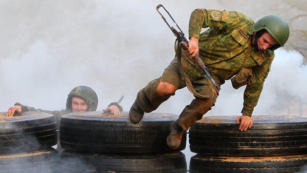 Белорусский спецназ. Архивное фото