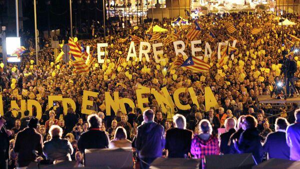 Протест в Каталонии