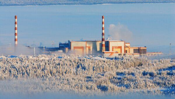 Кольская атомная станция. Город Полярные Зори. Архивное фото