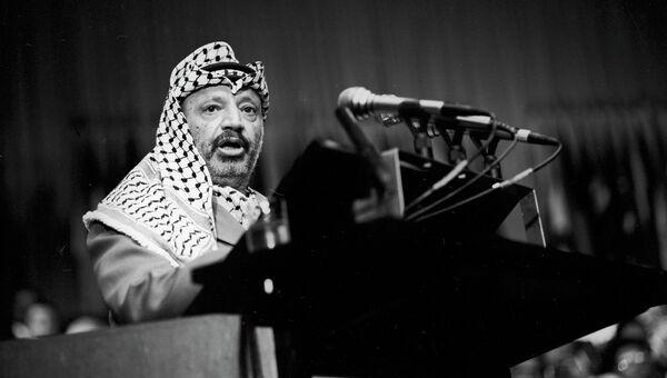 Ясир Арафат. Архивное фото