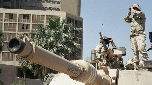 Американские солдаты в Багдаде. Архивное фото