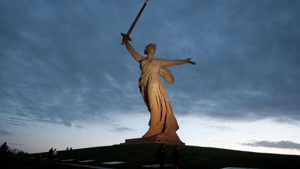 Монумент Родина-мать зовет! на Мамаевом кургане. Архивное фото