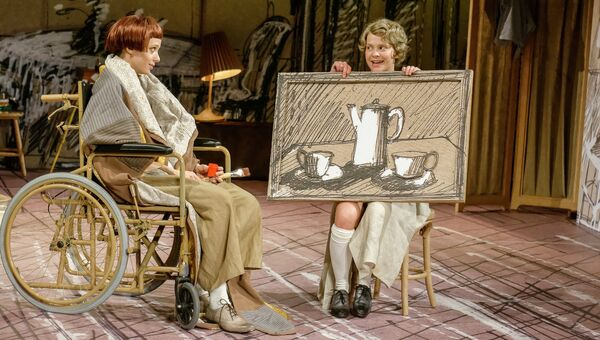 Репетиция мюзикла Рождество О.Генри в филиале Театра им. Пушкина