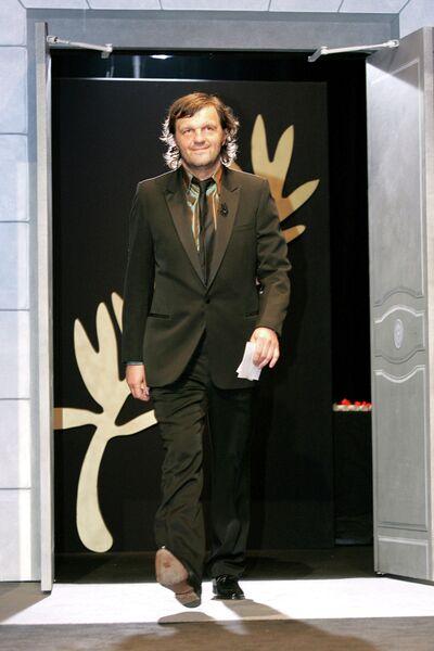 Югославский и сербский кинорежиссёр Эмир Кустурица. Канны, 2005 год