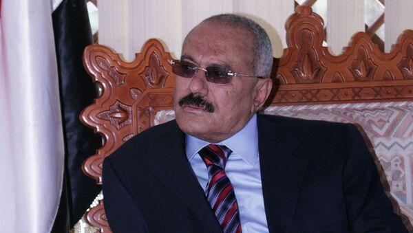 Экс-президент Йеменской Республики Али Абдалла Салех. Архивное фото