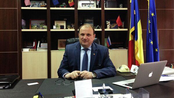 Министр сельского хозяйства и перерабатывающей промышленности Молдавии Василий Бумаков