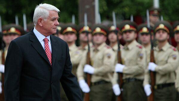 Министр иностранных дел Румынии Теодор Мелескану. Архивное фото