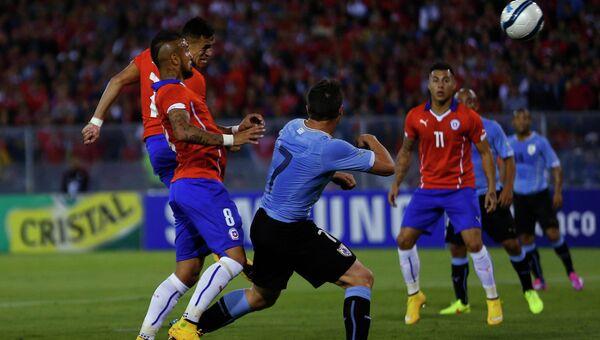 Товарищеский матч Чили - Уругвай, 18 ноября 2014