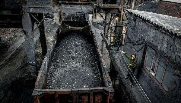 В донецкой шахте. Архивное фото