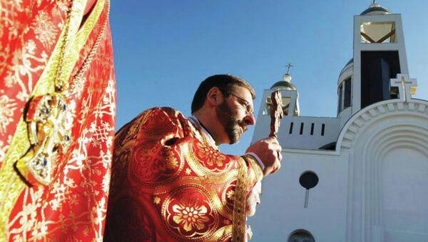 Глава Украинской греко-католической церкви епископ Святослав (Шевчук)