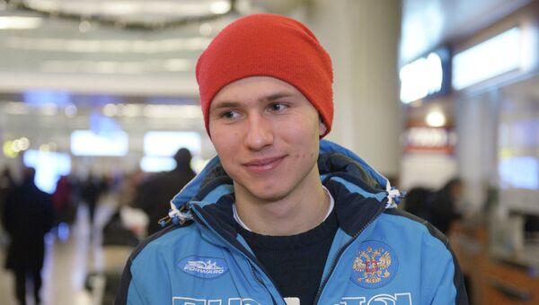 Российский конькобежец Павел Кулижников, архивное фото
