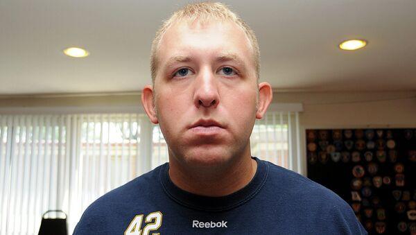 Полицейский Даррен Уилсон, застреливший подростка в Фергюсоне