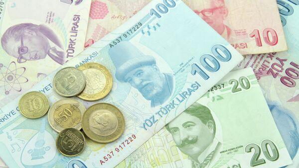 Турецкая лира. Архивное фото