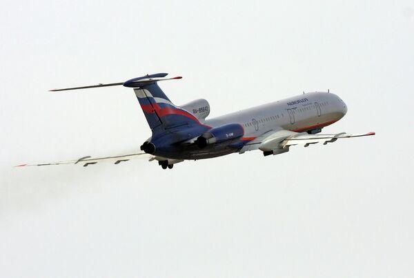 Самолет Ту-154м авиакомпании Аэрофлот