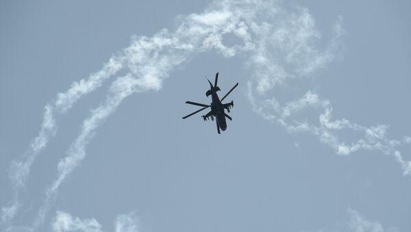 Вертолет Ка-52 ВВС России. Архивное фото