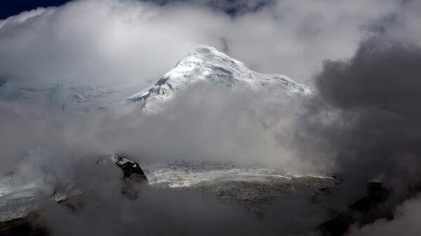 Лед на горе Уаскаран, Перу