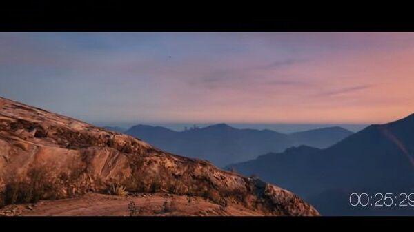 Вдоль линии гор