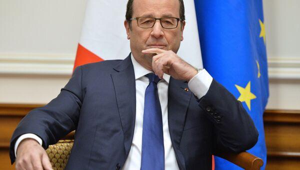 Президент Франции Франсуа Олланд, архивное фото