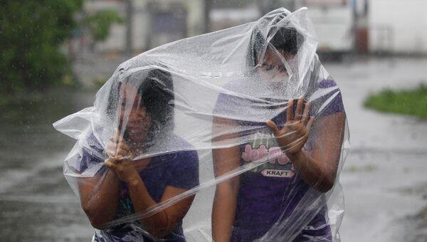 Последствия тайфуна на Филлипинах